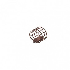 Кормушка металлическая ALLVEGA Агидель M (40мл), коричневая