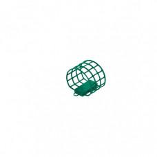Кормушка металлическая ALLVEGA Агидель M (40мл), зеленая