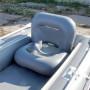Кресло надувное №3 89х65х65 см (Серый)