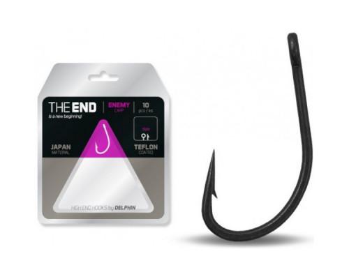Крючки DELPHIN THE END Carp ENEMY Hook 10 шт.
