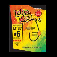 Крючки LureMax Trout LT37 Green (10шт)