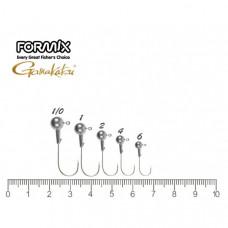 Микро Джигер Formix Gamakatsu Round 4г (3шт)