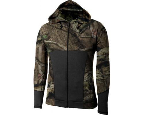Куртка с капюшоном на молнии W8621-230 Black+RealTree (XXL)