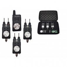 Набор электронных сигнализаторов поклевки с пейджером Hoxwell HL 119 (3+1)
