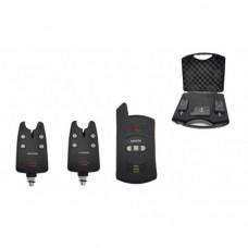 Набор электронных сигнализаторов поклевки с пейджером Hoxwell HL 22 (2+1)