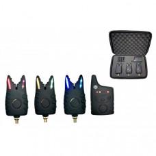 Набор электронных сигнализаторов поклевки с пейджером Hoxwell HL 41 (3+1)