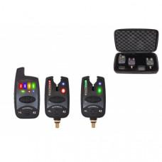 Набор электронных сигнализаторов поклевки с пейджером Hoxwell HL 42 (2+1)