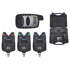 Набор электронных сигнализаторов поклевки с пейджером Hoxwell HL 47 (3+1)