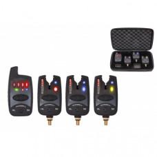 Набор электронных сигнализаторов поклевки с пейджером Hoxwell HL 50 (3+1)