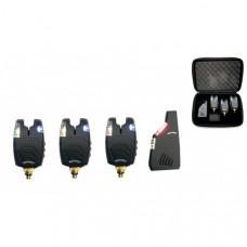 Набор электронных сигнализаторов поклевки с пейджером Hoxwell HL 79 (3+1)