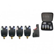 Набор электронных сигнализаторов поклевки с пейджером Hoxwell HL 80 (4+1)