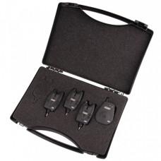 Набор сигнализаторов поклевки MAD® CSI+ Wireless Alarm Set 3+1 - R, G, Y