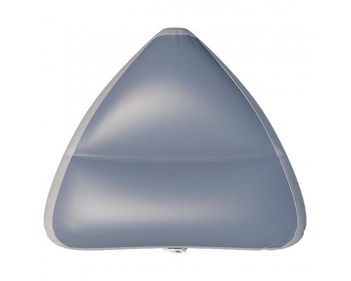Надувное сиденье в нос лодки ARL 61х47х22 см (Серый)