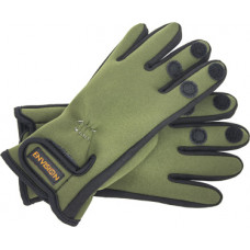 Спортивные неопреновые перчатки 2,5 мм (зеленые) (L)