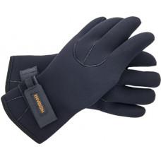 Спортивные неопреновые перчатки 4 мм (черные) (L)
