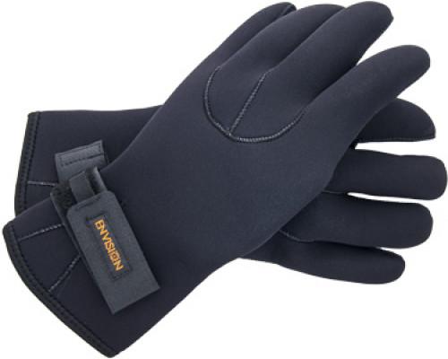 Спортивные неопреновые перчатки 4 мм (черные) (XXL)