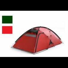 Палатка HUSKY FELEN 2-3, красный/темно-зелёный