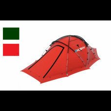 Палатка HUSKY FIGHTER 3-4, красный/темно-зеленый