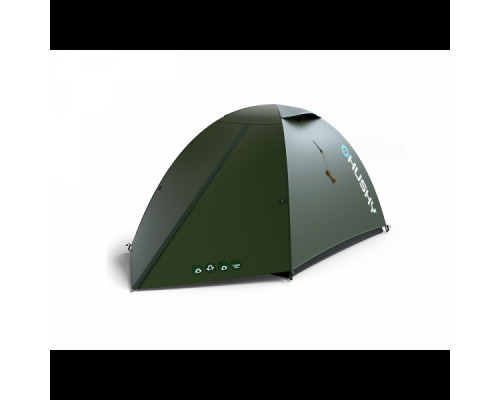 Палатка HUSKY SAWAJ  3, тёмно-зелёный