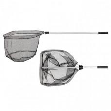 Подсачек Akara PF-2 50x55 см прямоугольный резиновая сетка разборный 145см