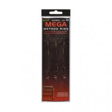 Поводки ESP Mega Method Rig Barbed 10cm - 3шт.