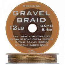 Поводковый материал DRENNAN GRAVEL Braid - 10m