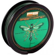Поводковый материал в оболочке PB PRODUCTS GREEN HORNET / 25lb / 20m - Weed