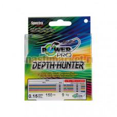 Шнур Power Pro Depth-Hunter Multicolor 150м