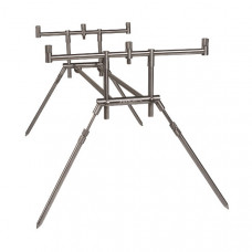 Род под для 3 удилищ MAD COMPACT STAINLESS STEEL Rod Pod