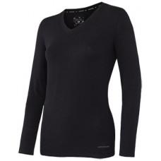 Женская кофта с вырезом W8544-010 Black (XL)