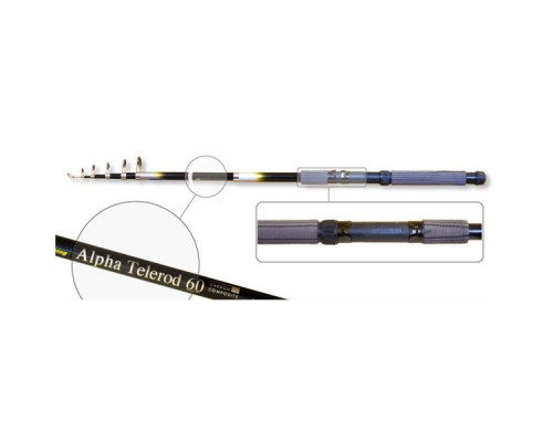 Удочка телескопическая стеклопластиковая Akara Alpha Telerod