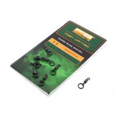 Вертлюг с кольцом PB Products Chod Ring Swivel №11 / 8шт.