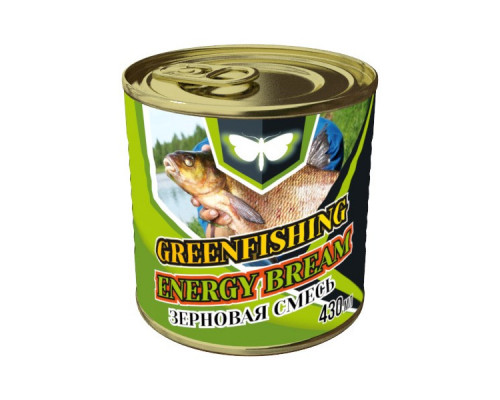 Зерновой микс Greenfishing - Лещ Energy 430 мл.