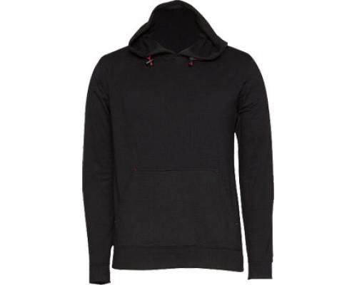 Куртка с капюшоном без молнии W8311-010 Black (S)